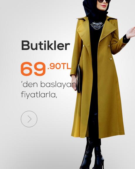 Butik Tesettür Giyim Ürünleri