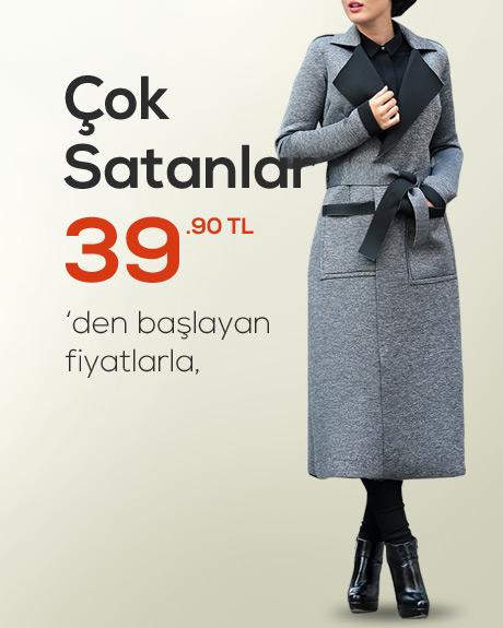 Çok Satan Tesettür Giyim Ürünleri