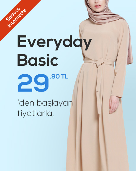 Everyday Basic Online Satış