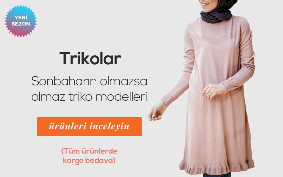 Tesettür Triko Modelleri