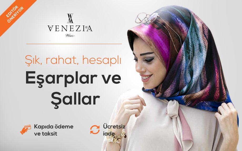 Venezia Wear Eşarp ve Şal Modelleri