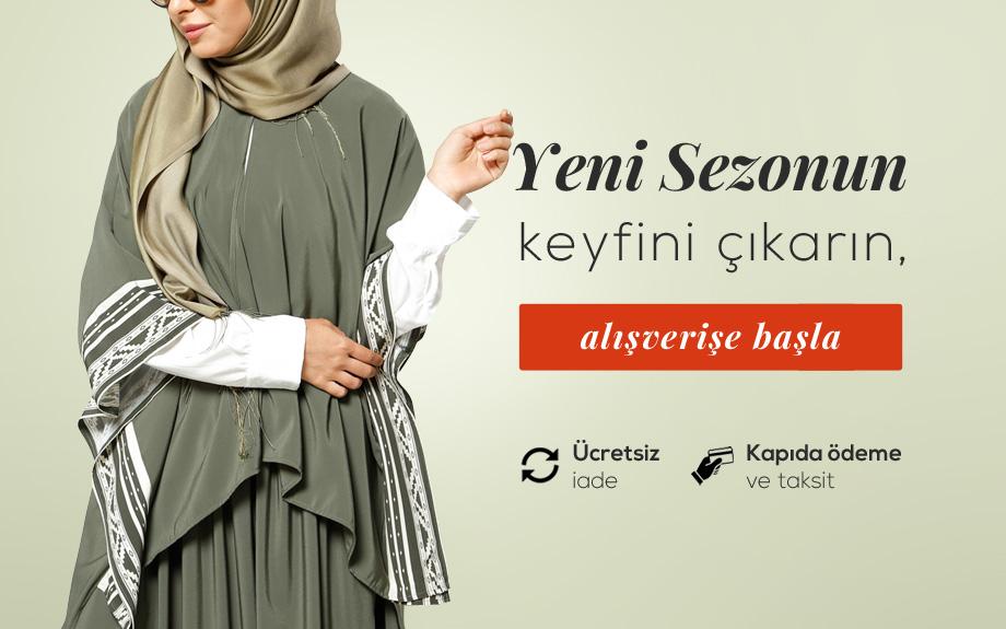 Yeni Sezon Tesettür Giyim Online Alışveriş