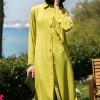 Refka Asit Sarısı Kolları Püskül Detaylı Tunik