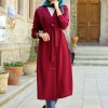 Mevra Bordo Trio Trench Tunik