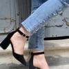 Comert Ayakkabı Sandra Siyah Babet