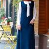 Gamze Özkul Petrol Askılı Kadife Elbise