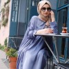 SÜMEYRA YILMAZ TASARIM Mavi Chanel Elbise Tunik