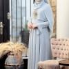 SomFashion Mavi Nur Abiye Elbise