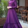 Zehrace Mürdüm Emma Fırfırlı Elbise