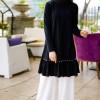 İnşirah Siyah Tunik Pantolon İkili Takım