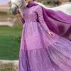 Muslima Wear Pembe Rose Silver Abiye Elbise
