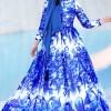 Muslima Wear Saks Milana Abiye Elbise