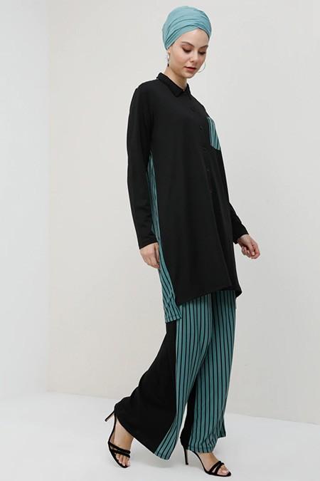 Tavin Çağla Tunik & Pantolon İkili Takım