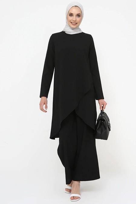 Tavin Siyah Tunik&Pantolon İkili Takım