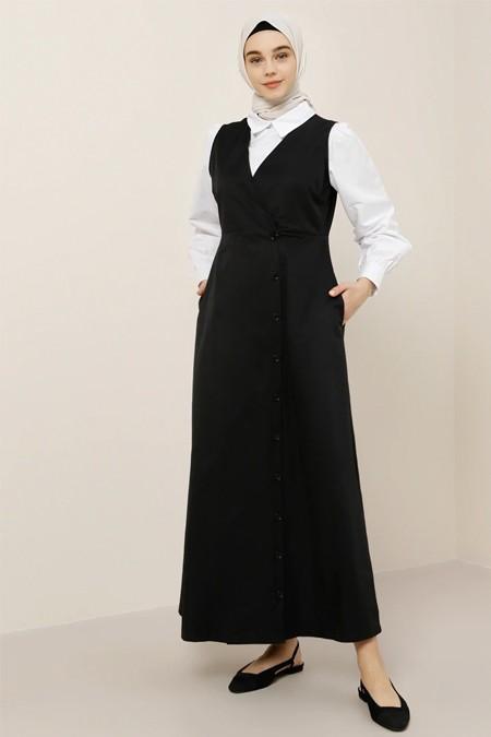 Benin Siyah Elbise & Tunik İkili Takım