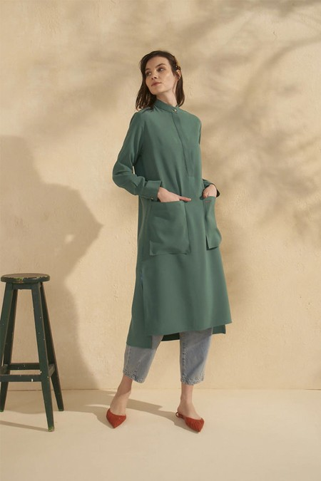 HE-QA Yeşil Fresh Tunik