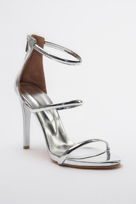 Trendyolmilla Gümüş Kadın Klasik Topuklu Ayakkabı