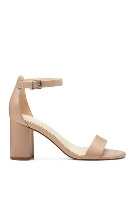 Nine West Naturel Kadın Topuklu Ayakkabı