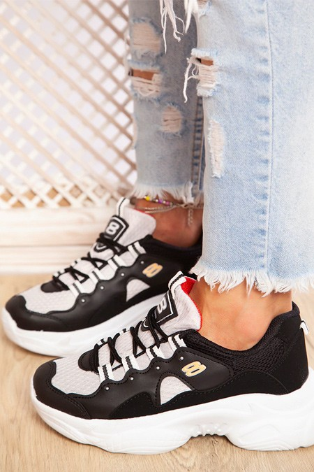 Ayakkabı Havuzu Siyah Füme Spor Ayakkabı