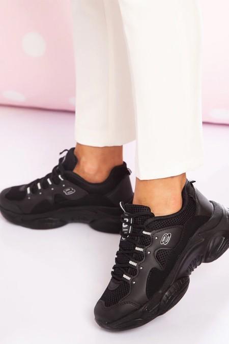Ayakkabı Havuzu Siyah Spor Ayakkabı