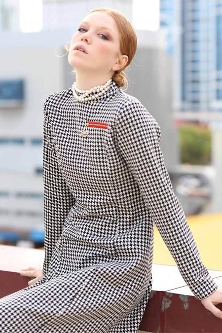 Vivencia Fermuar Cepli Kazayağı Elbise