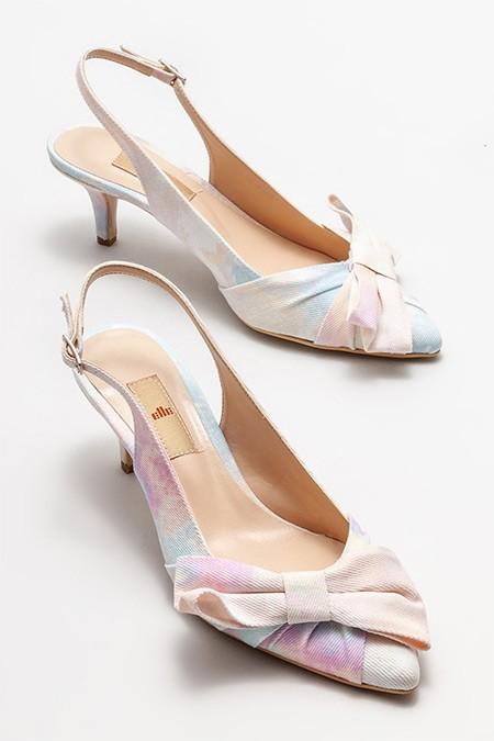 Elle Pudra Topuklu Ayakkabı