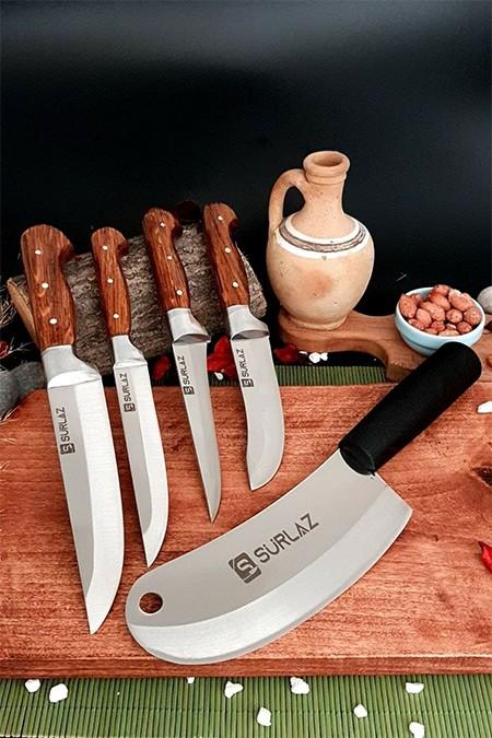 SürLaz Sürmene Mutfak Bıçak Seti