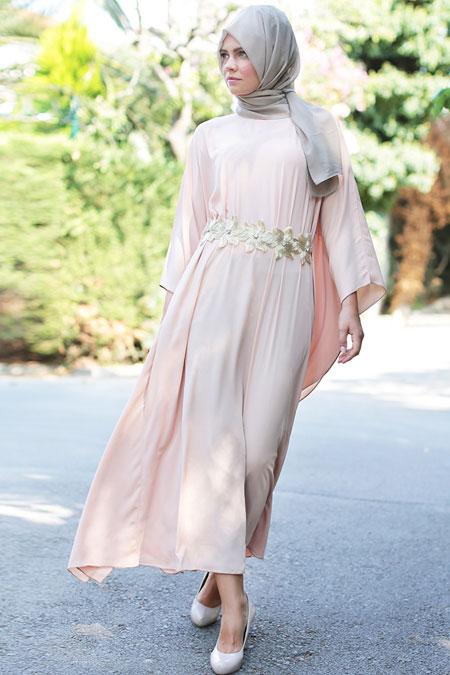 Ayşemira Yavruağzı Yarasa Elbise