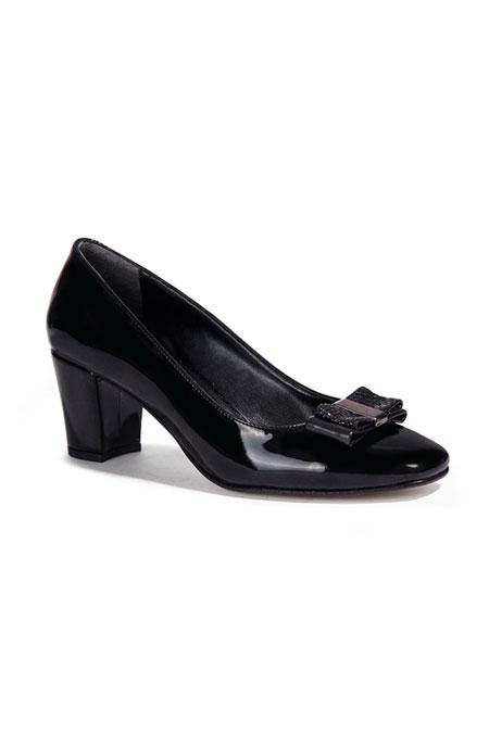 Desa Siyah Kadın Topuklu Ayakkabı