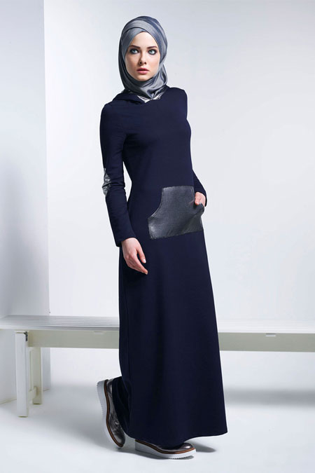 Mayovera Lacivert Eşofman Elbise