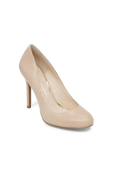 Vepa62 Jessica Simpson Deri Taba Rengi Topuklu Ayakkabı