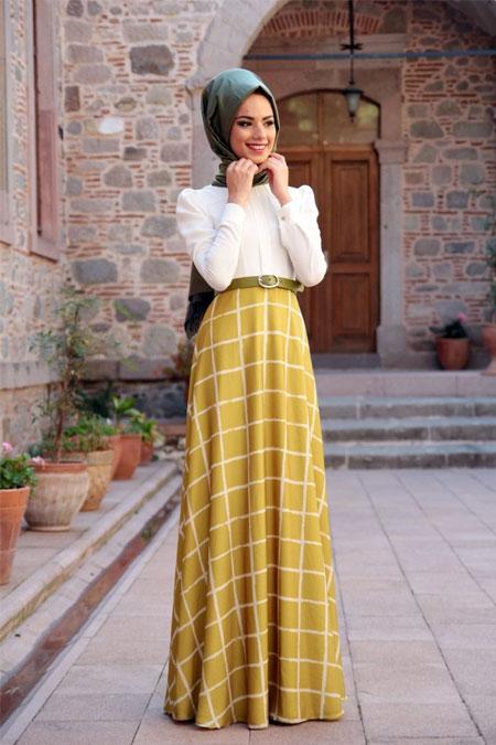 Mevra Hardal Monokrom Elbise