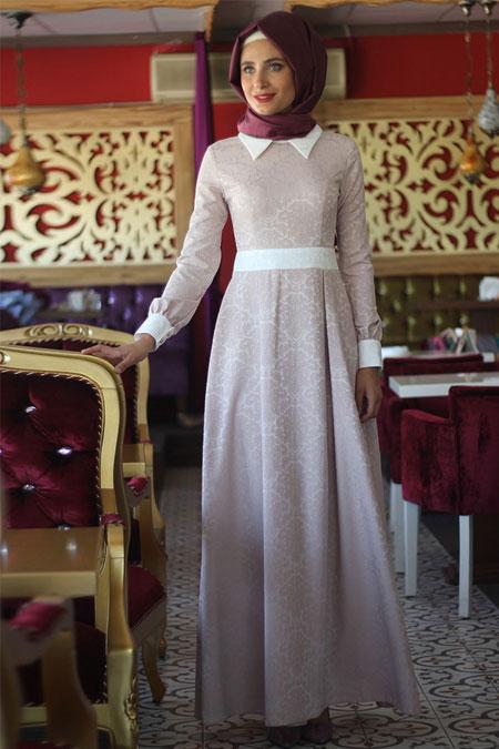 Nurbanu Kural Pudra Dora Elbise