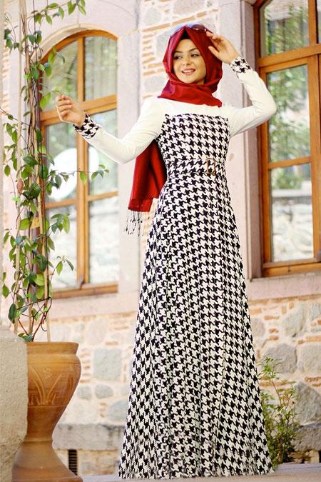 Pınar Şems Kazayağı Zirve Elbise
