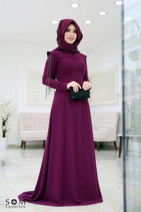 Som Fashion Zincirli Mürdüm Büşra