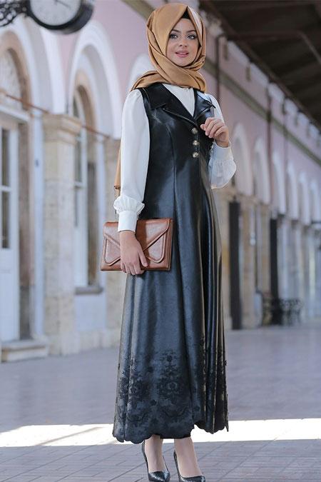Pınar Şems Siyah Lady Yelek