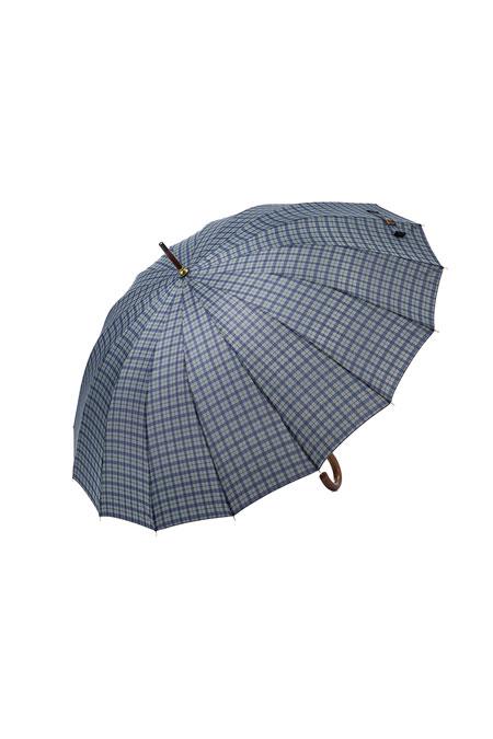 Yargıcı Ekose Desenli Şemsiye