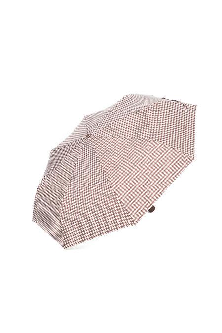 Yargıcı Kazayağı Desenli Küçük Boy Şemsiye