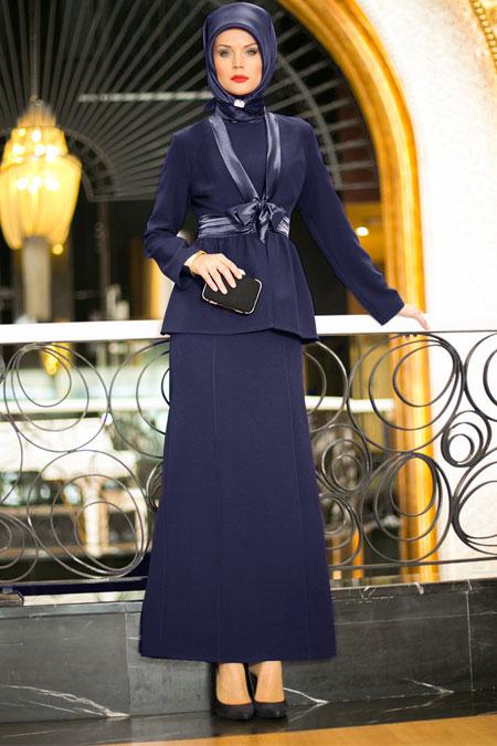 Dersaadet Lacivert Abiye Takım Elbise