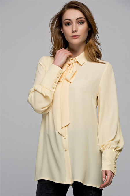 Vavist Sarı Gömlek