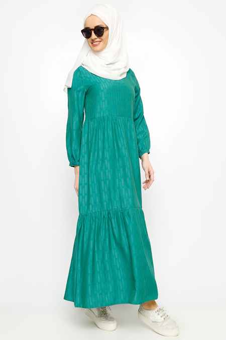 Meryem Acar Fistolu Elbise