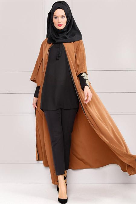 Refka Camel Uzun Volumlu Kap