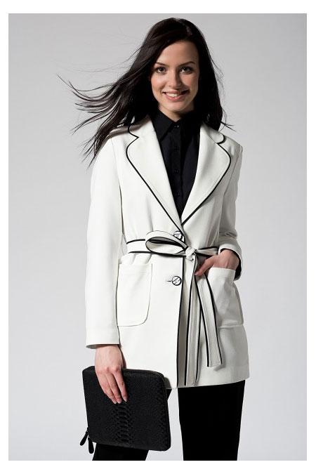 Vavist Beyaz Ceket