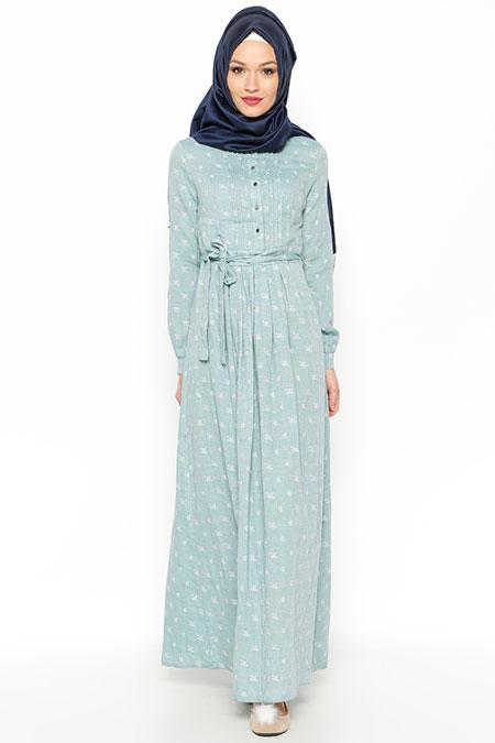 LOREEN Nefti Çiçekli Elbise