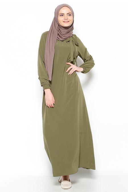 6aecf4f5cd694 Bwest Haki Elbise, İndirimli Satın Al, Online Alışveriş, Sipariş Ver ...