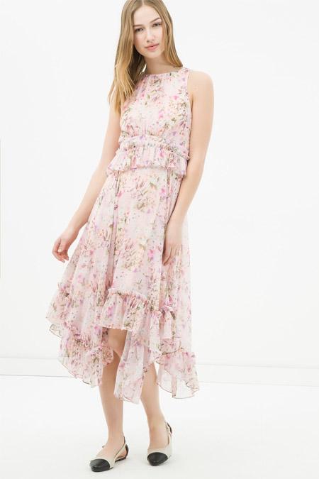 Koton Çiçek Desenli Elbise