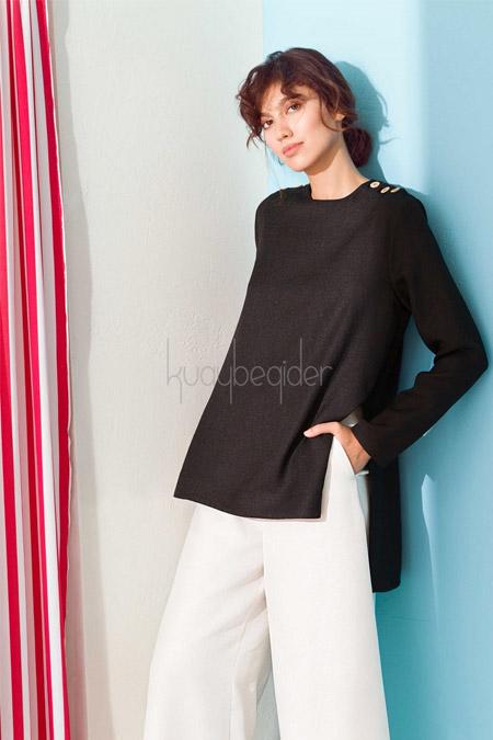 Kuaybe Gider Siyah Spark Gömlek