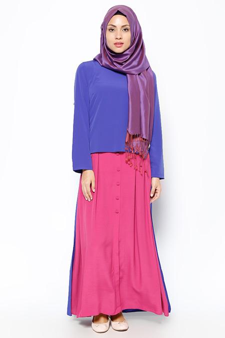 Missmira Saks Arkası Uzun Bluz