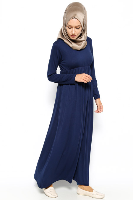 Dadali Lacivert Robadan Elbise