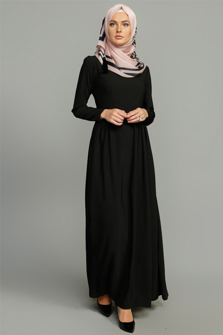 MİSS VAQA Siyah Klara Elbise